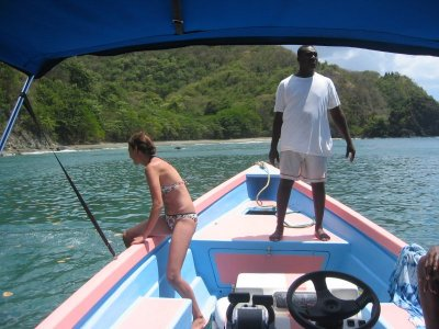 Boat trips along the Caribbean coast